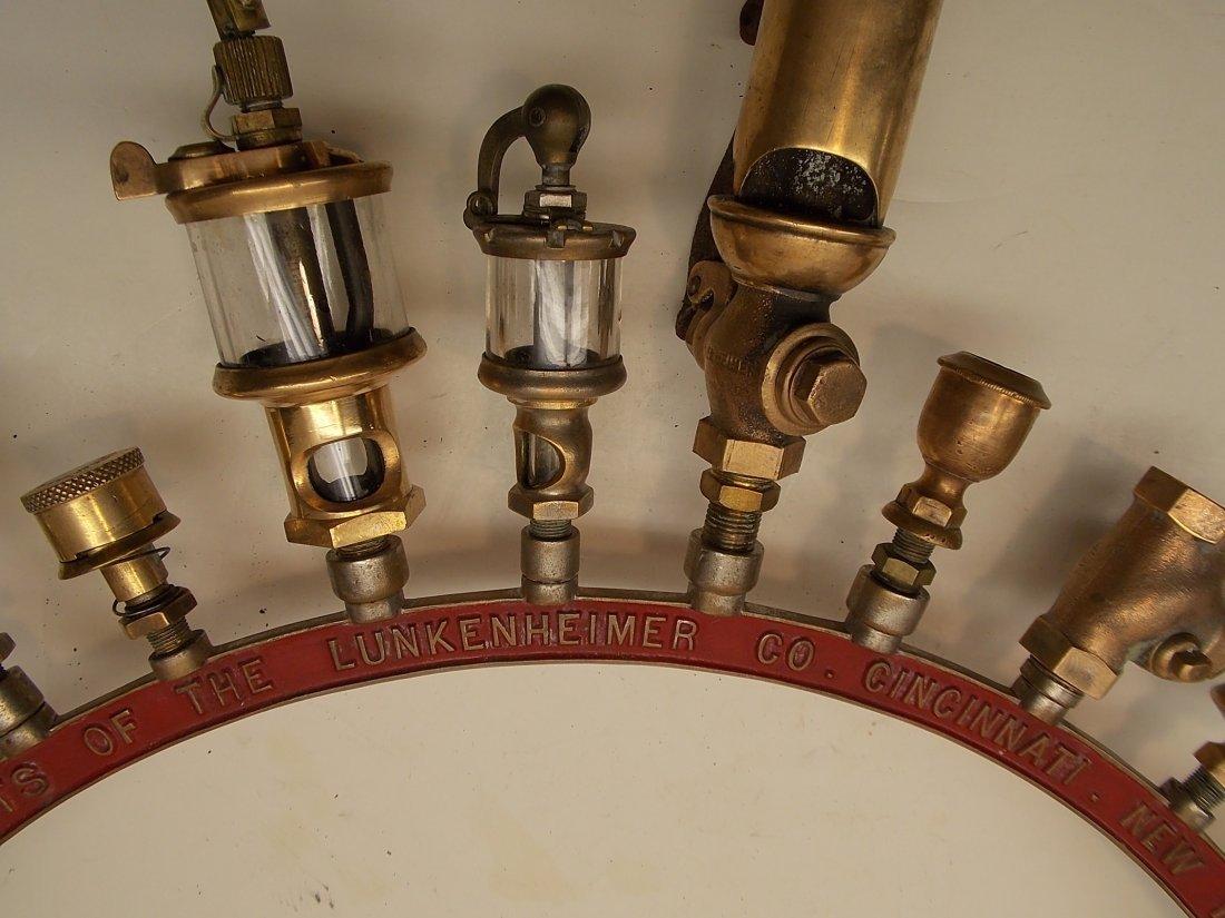 Lunkenheimer Brass Whistle Advertising Arch - 4