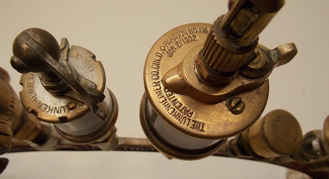 Lunkenheimer Brass Whistle Advertising Arch - 6