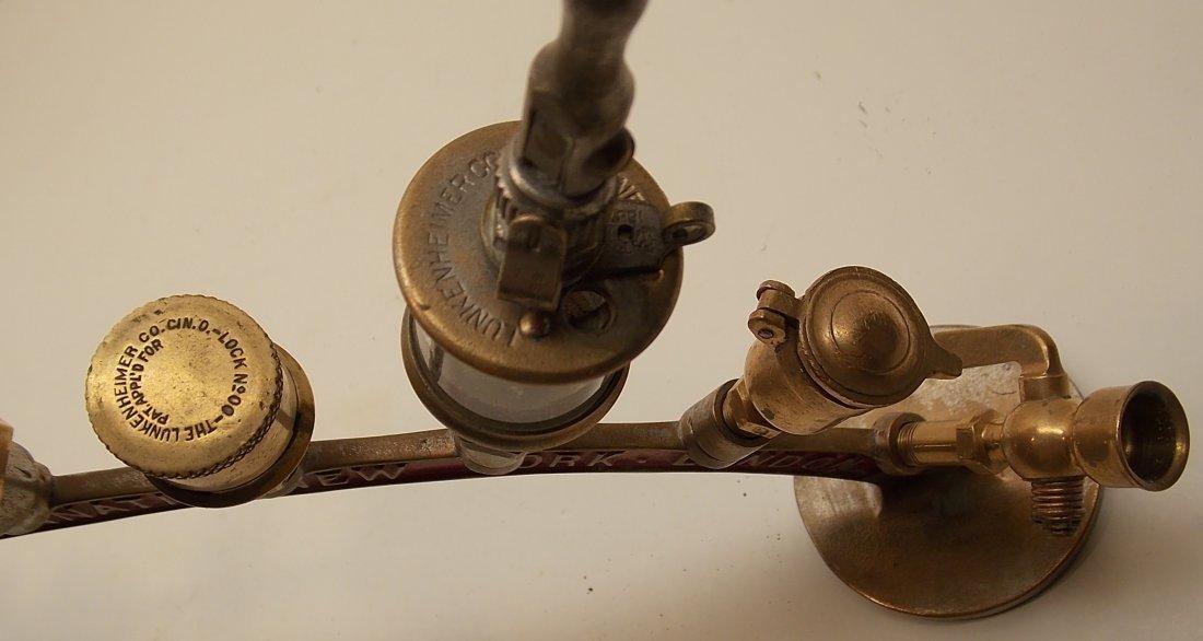Lunkenheimer Brass Whistle Advertising Arch - 7