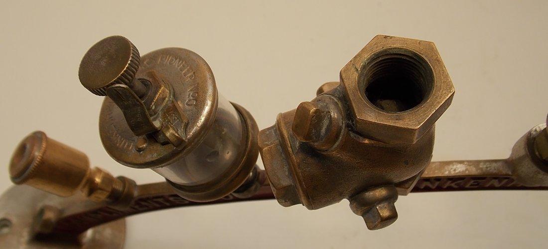 Lunkenheimer Brass Whistle Advertising Arch - 8