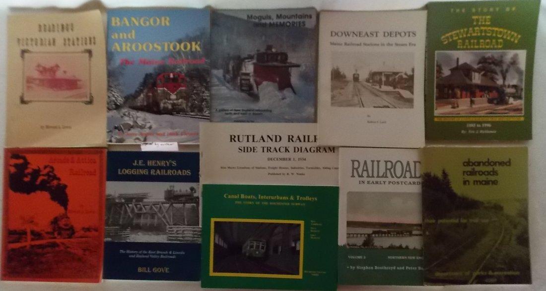 Soft Cover Railroad Books - Good Titles