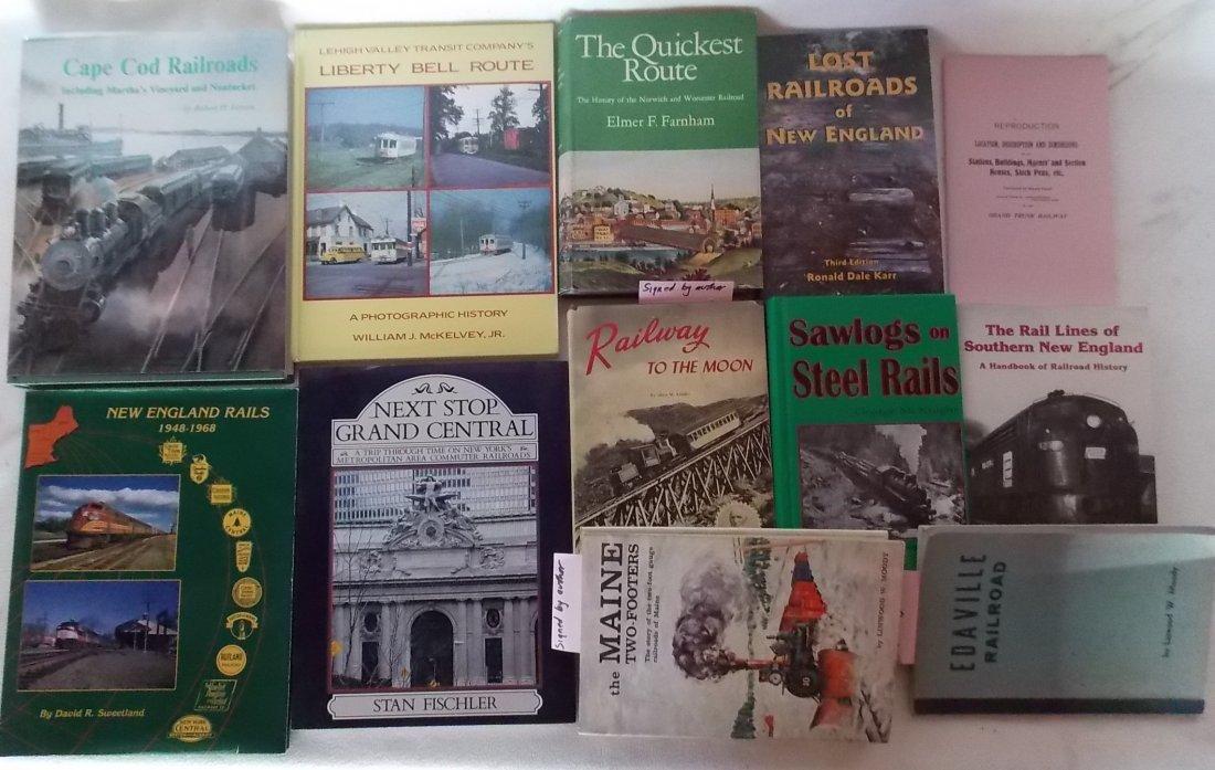 Railroad Book Assortment  12