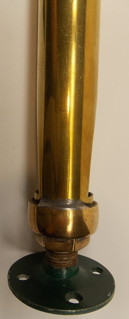 "Brass Whistle Cut 2 Chamber 19"" - 3"
