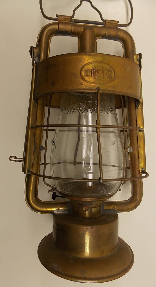 Dietz Fire King Brass Lantern - 2