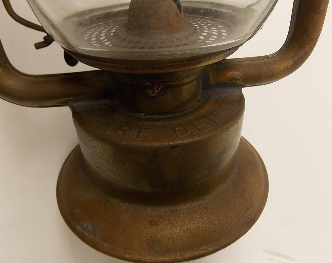 Dietz Fire King Brass Lantern - 6