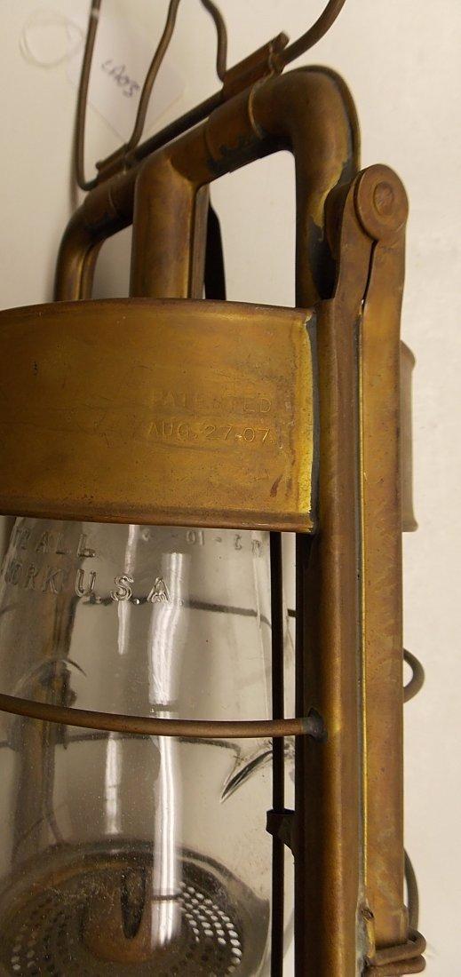 Dietz Fire King Brass Lantern - 8
