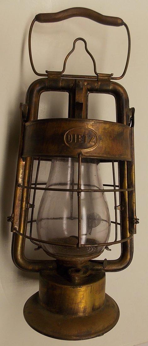 Dietz Fire King Brass Lantern