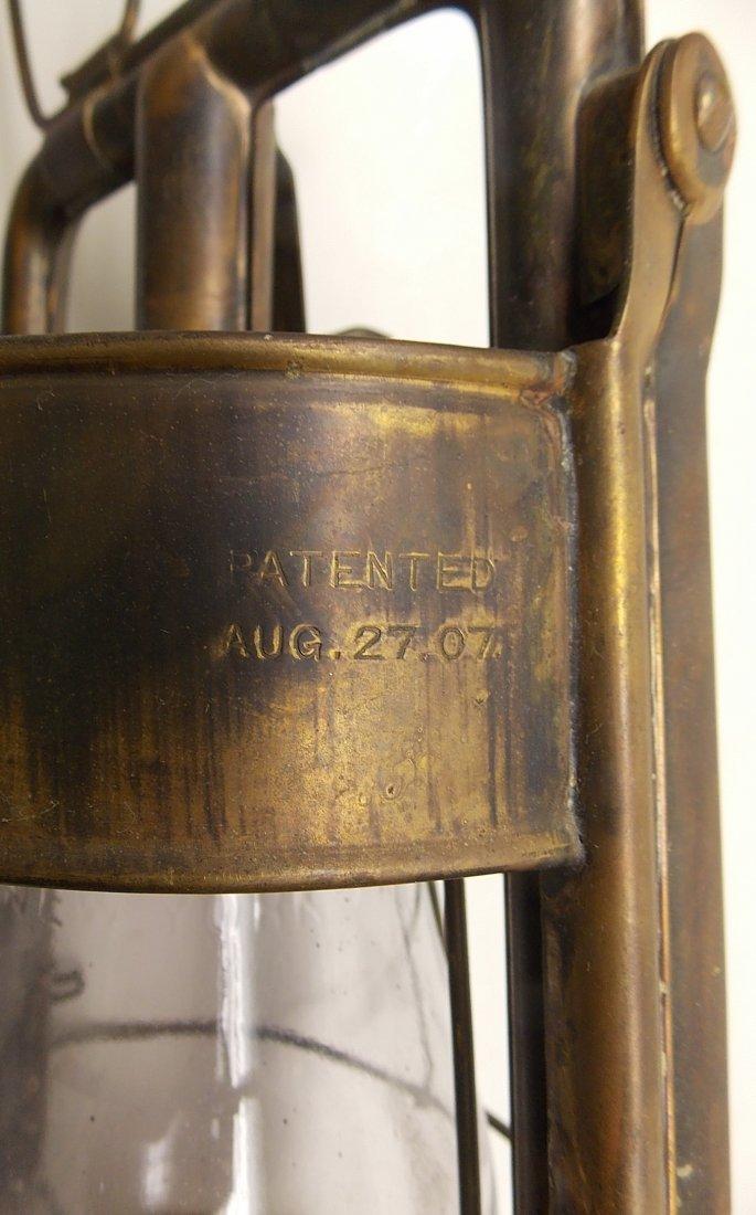 Dietz Fire King Brass Lantern - 3