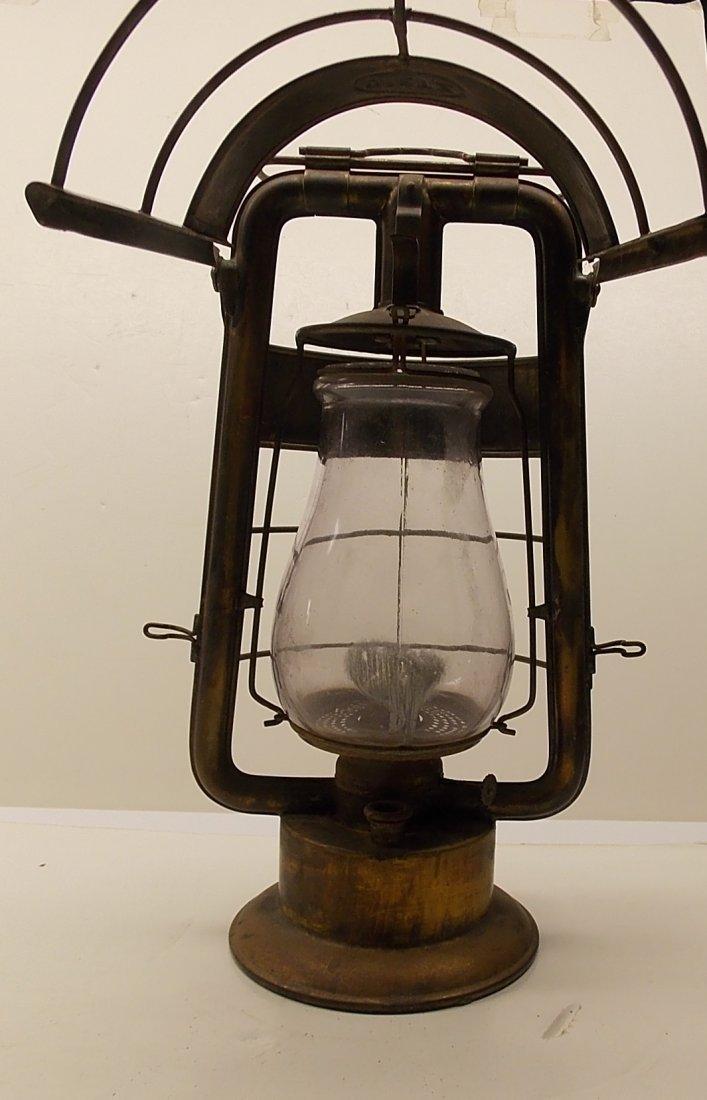 Dietz Fire King Brass Lantern - 5