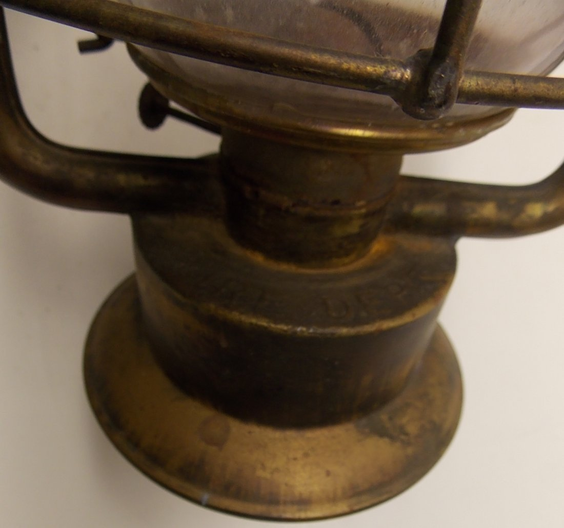 Dietz Fire King Brass Lantern - 7
