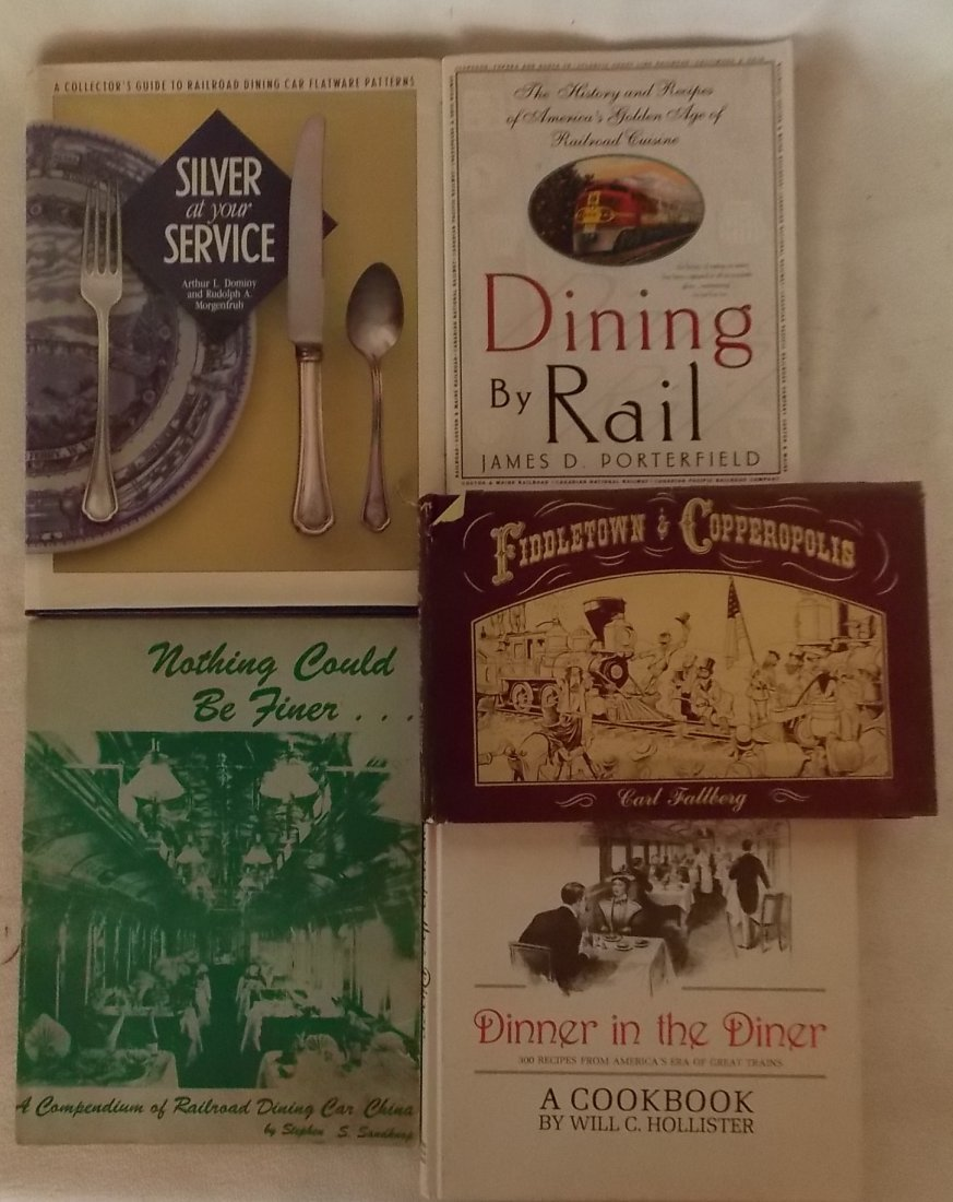 Dining Car Reference Books + Old Comic Strip Book