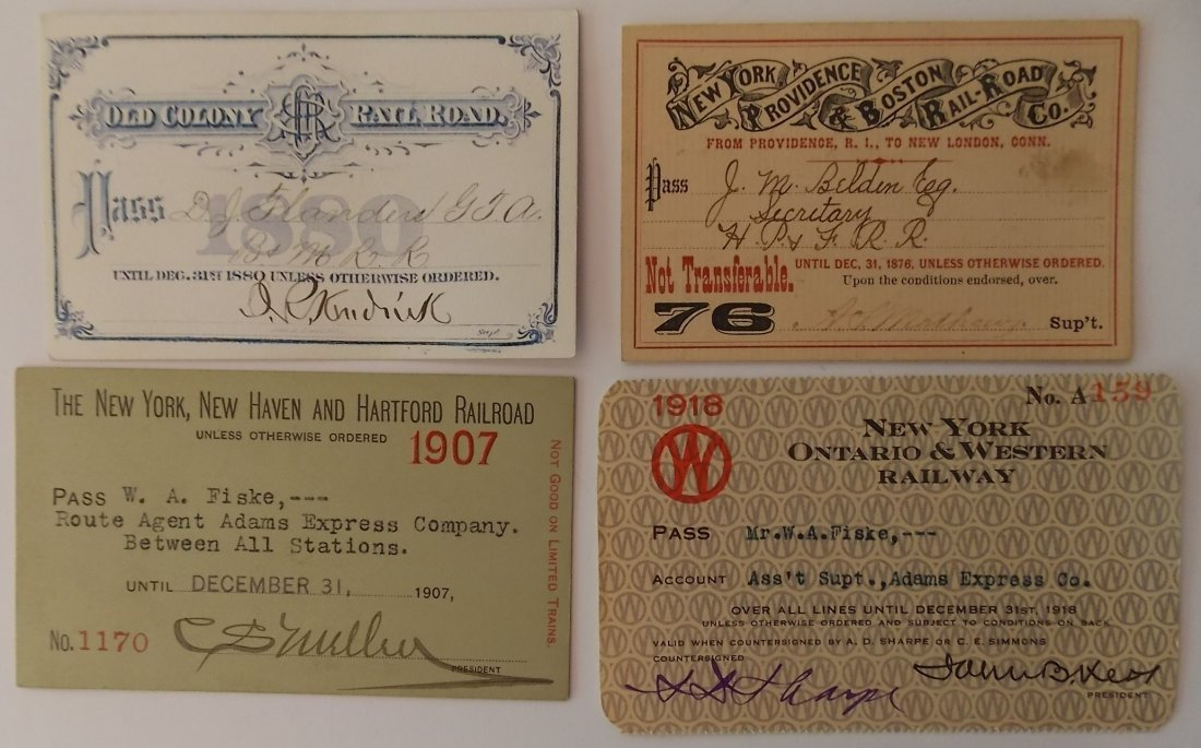 Southern New England Annual Passes (4)