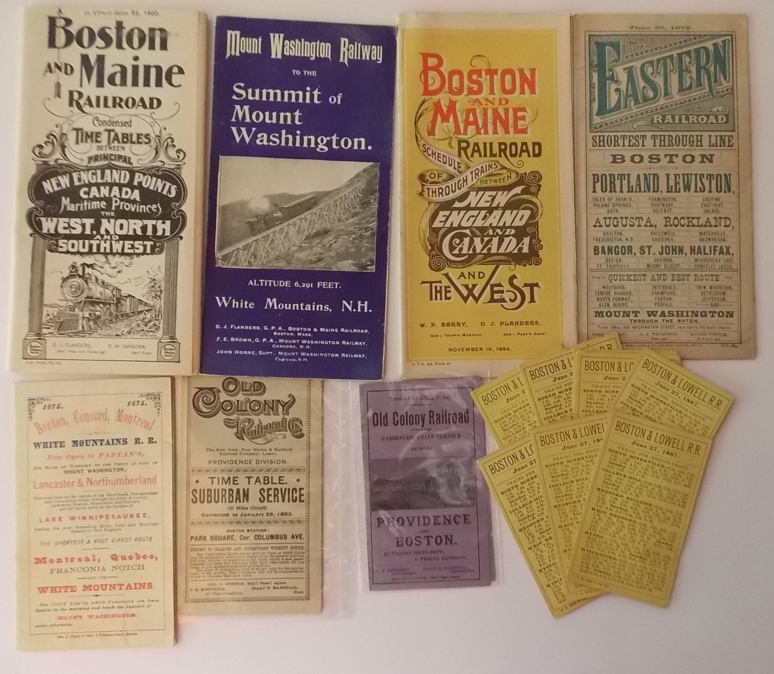 New England Timetables (14)