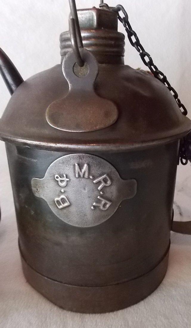 Boston & Maine Railroad Tinware (3) - 3