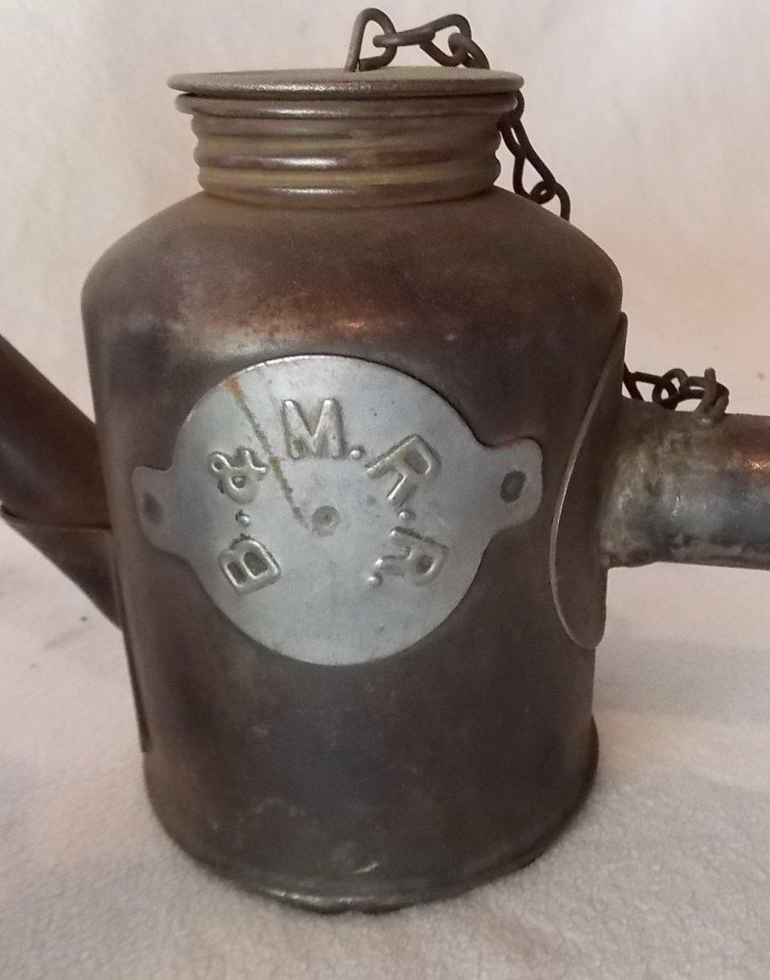 Boston & Maine Railroad Tinware (3) - 4
