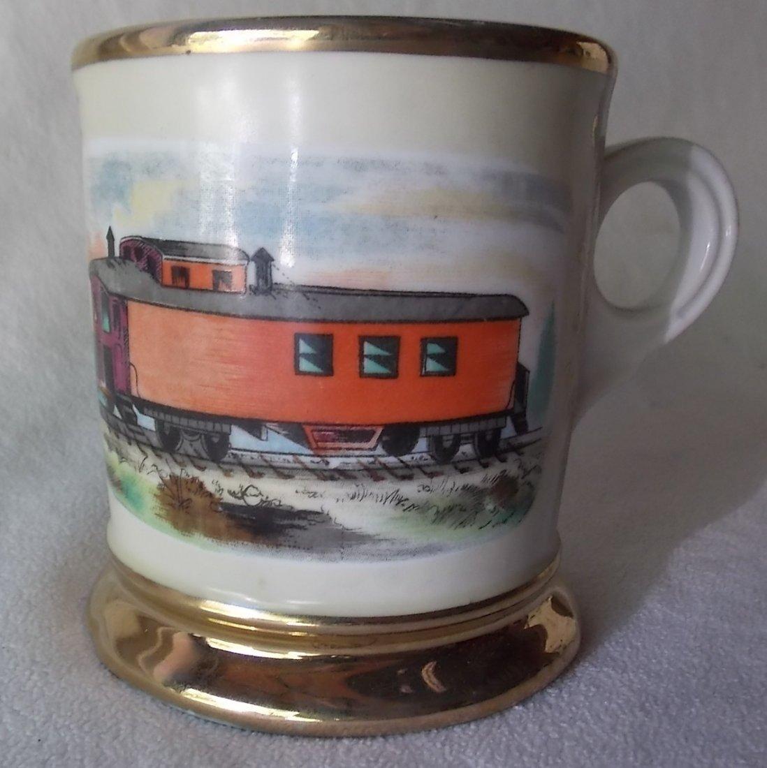 5 Railroad Occupational Shaving Mugs - 5