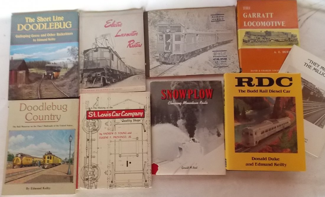 Railroad Manufacturer Books