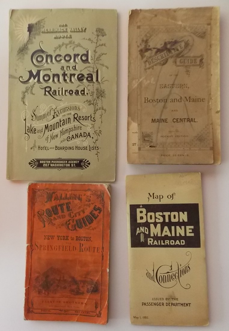Timetables Travel Guides 1851, 1857 (27) - 2