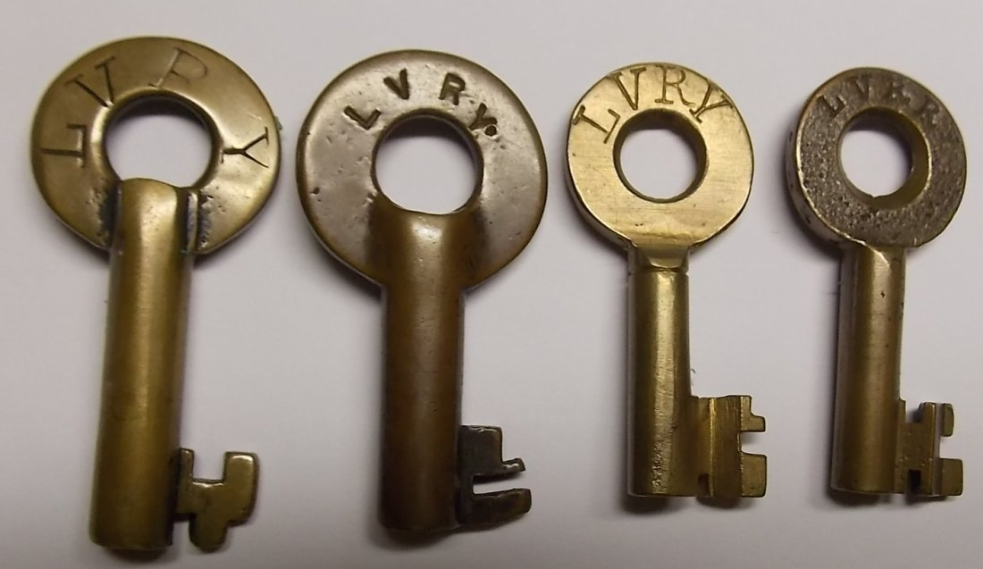Lehigh Valley Railroad Switch Keys