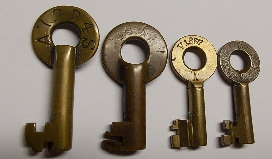 Lehigh Valley Railroad Switch Keys - 2