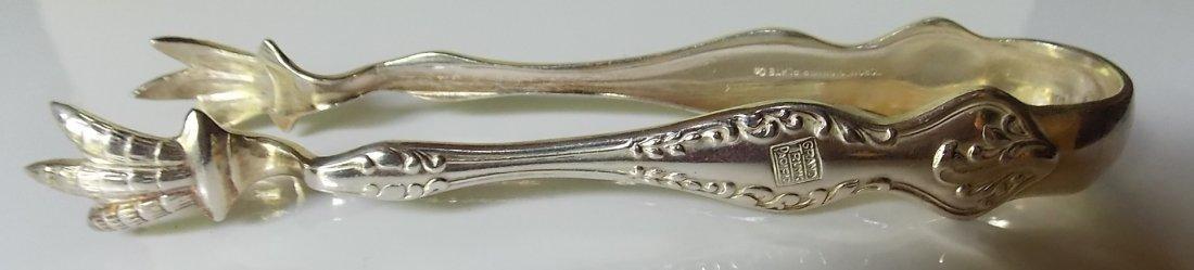 Grand Trunk Pacific Silver Sugar Tongs