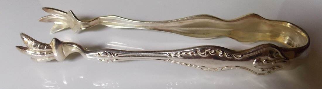 Grand Trunk Pacific Silver Sugar Tongs - 3