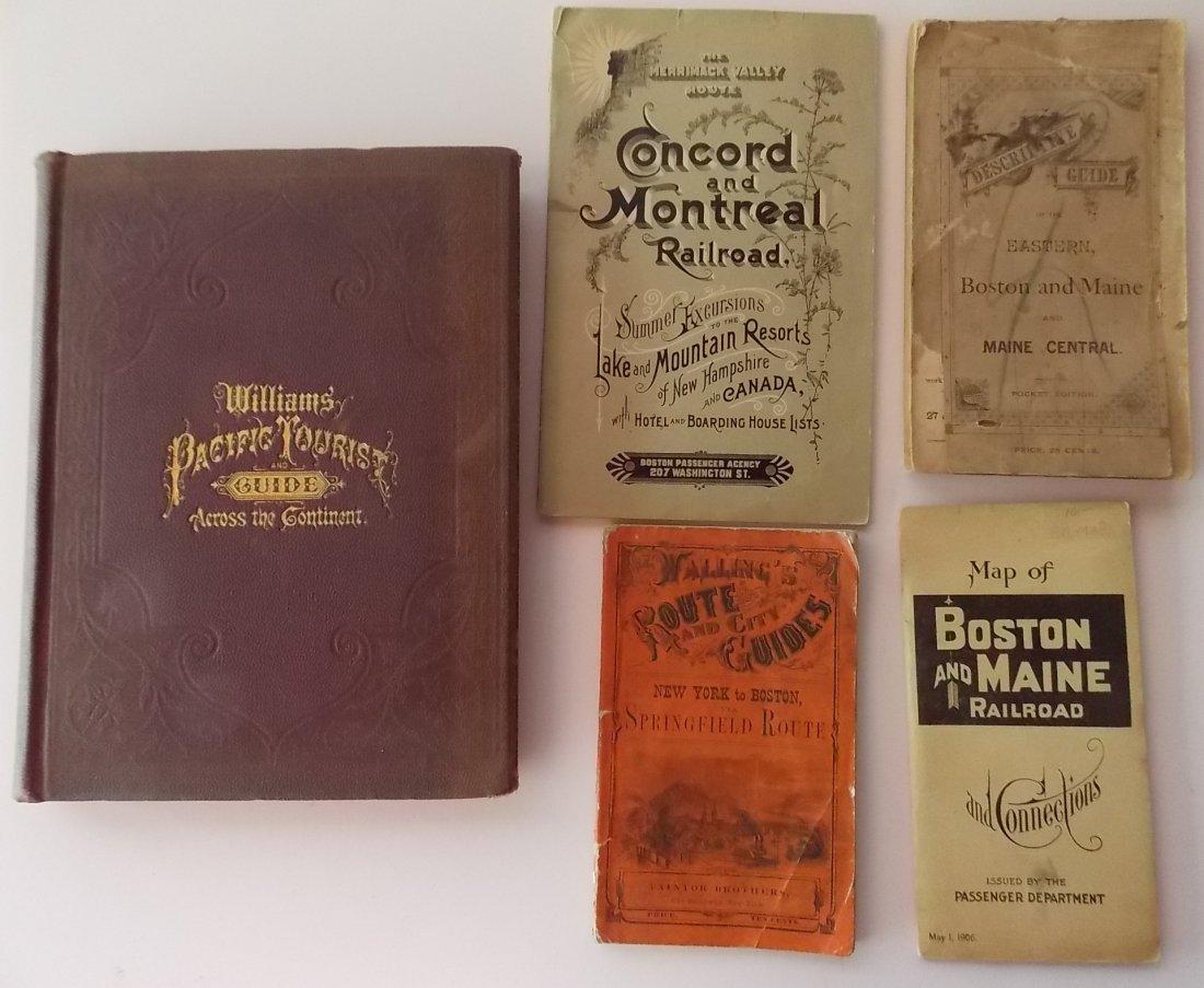 Travel Guides 1851, 1857, 1876 etc. (5)