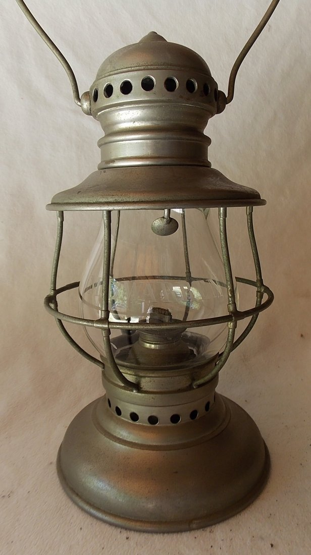 Presentation Conductor Lantern M. L. Warren
