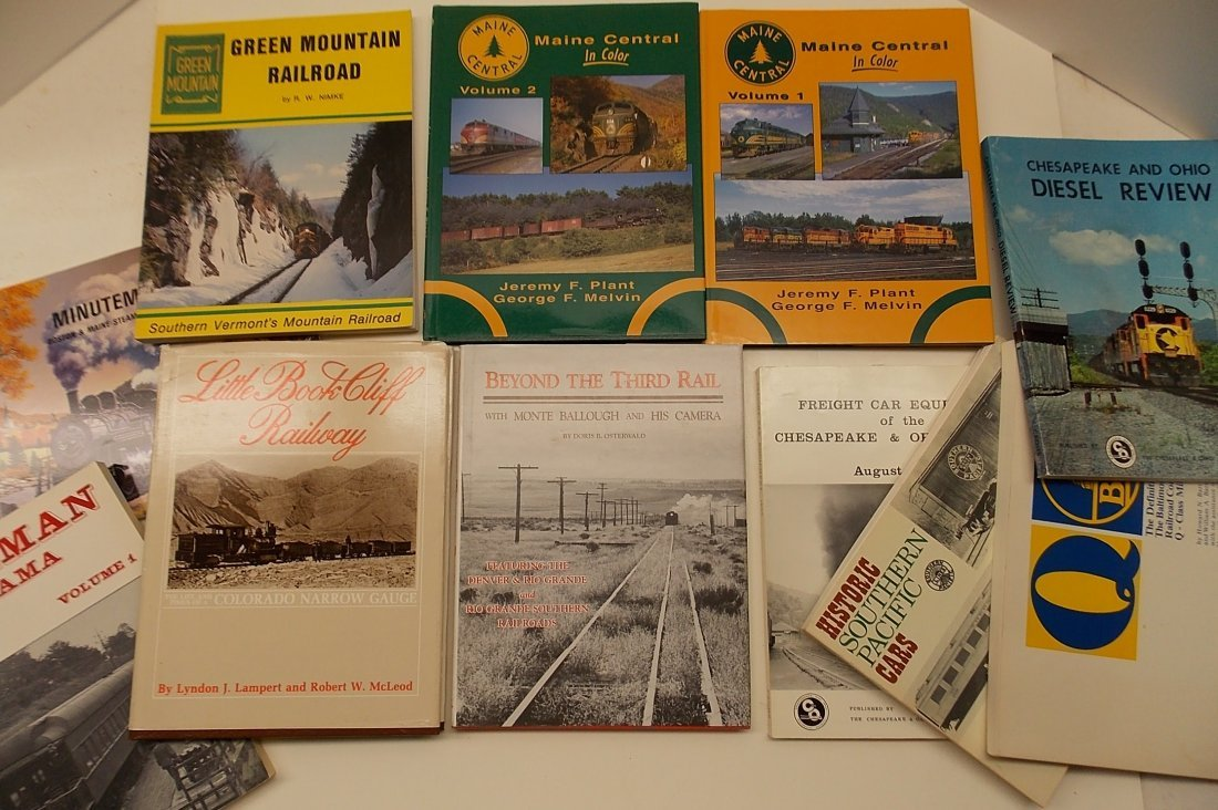 Group of Railway Books