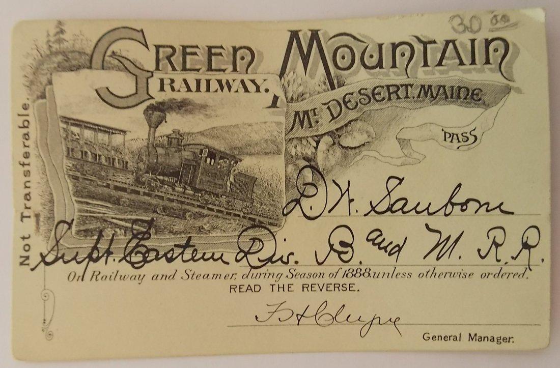 Green Mountain (Maine) Annual Pass