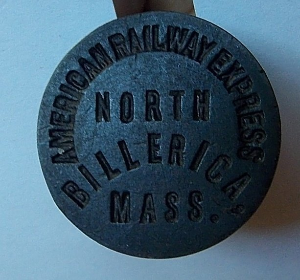 Am. Railway Express Wax Sealer N. Billerica Mass - 2