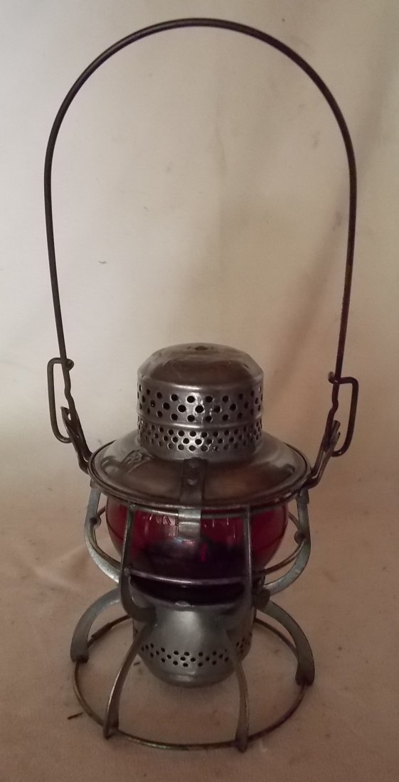 Pennsylvania Railroad Lantern Armspear - 2