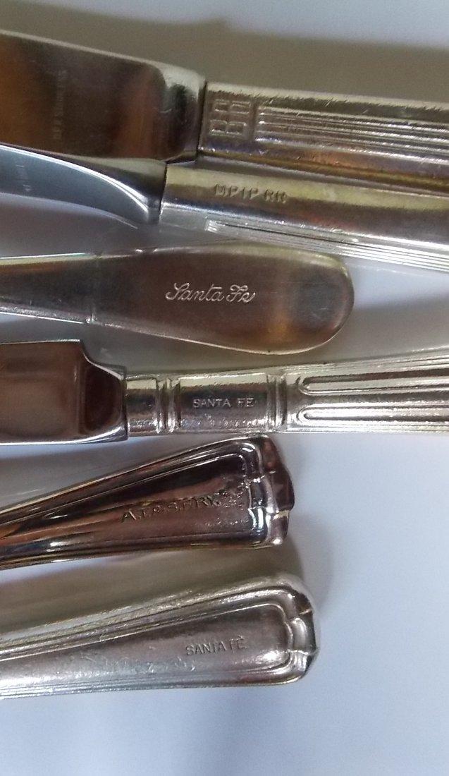 Santa Fe, BR, MP Silver Flatware (6) - 2