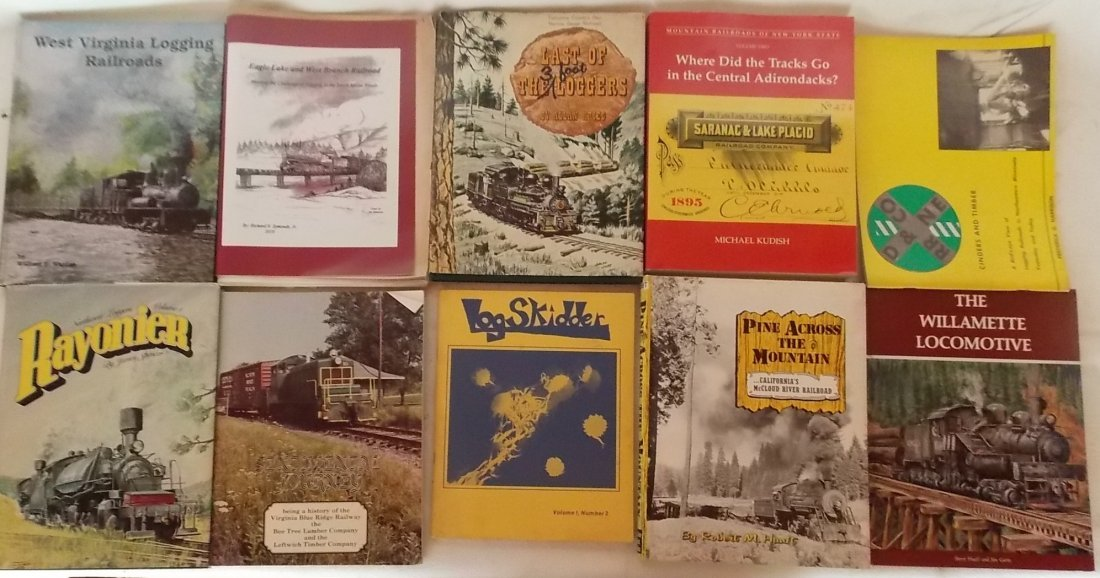 Logging and Railroad Books 10