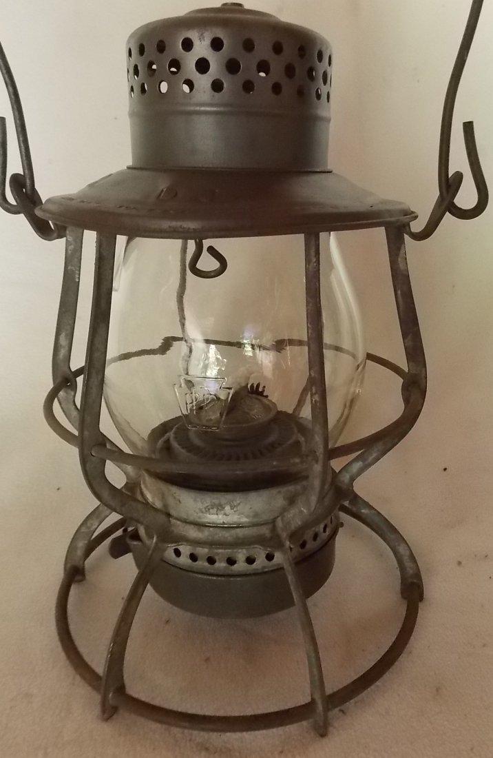 Pennsylvania Railroad Lantern Casey MEGCo Globe