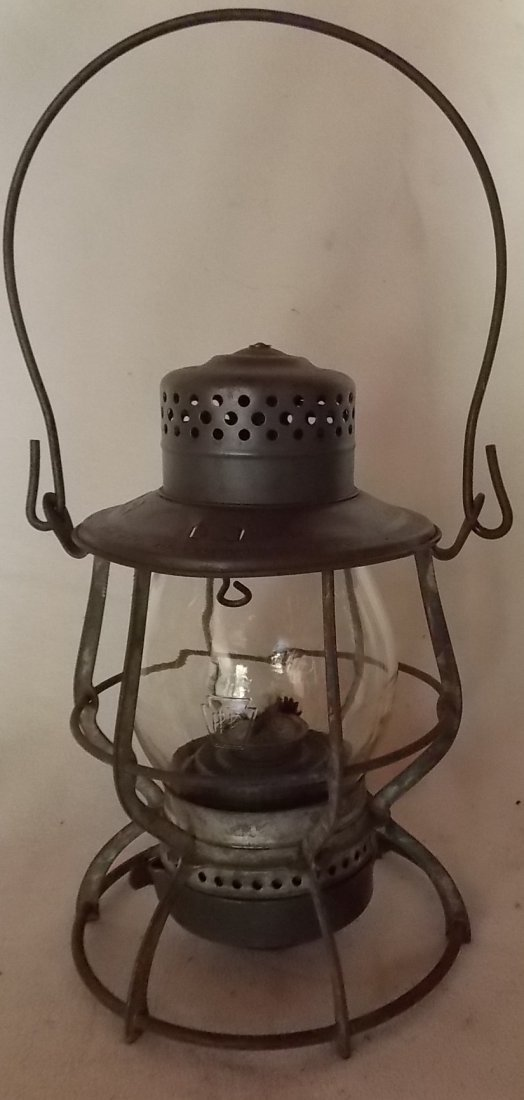 Pennsylvania Railroad Lantern Casey MEGCo Globe - 2