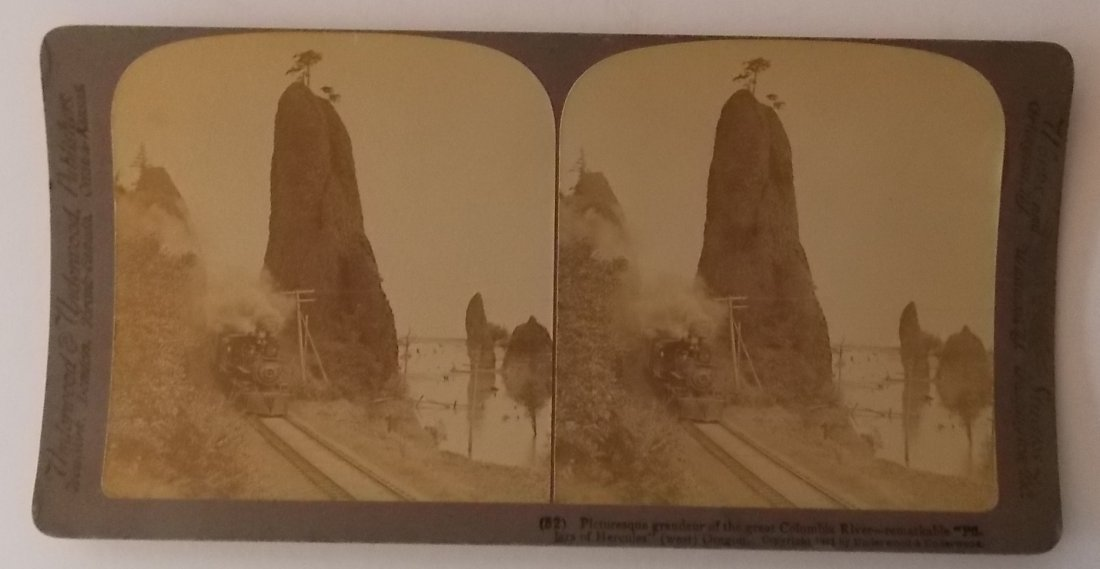 Western Stereoview Cards (5) - 2