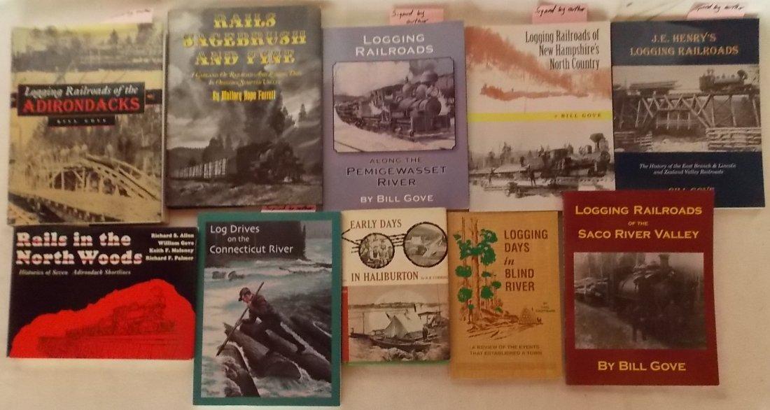 Logging Railroad Books  10