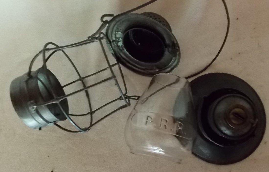 Pennsylvania Railroad A&W Bellbottom Lantern - 9