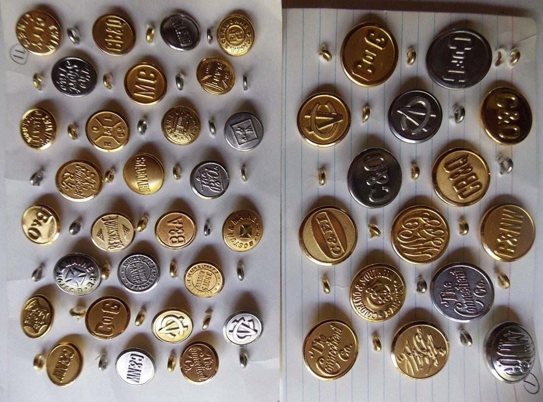 Railway Uniform Buttons (122) - 3