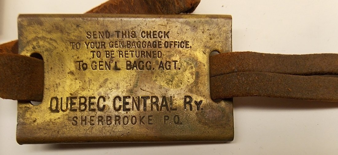 2 Baggage Tags & Boston & Maine Fob - 2