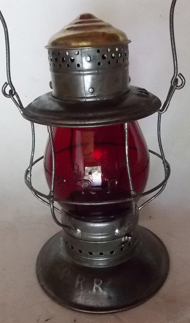 Pennsylvania Railroad Triple Bellbottom Lantern