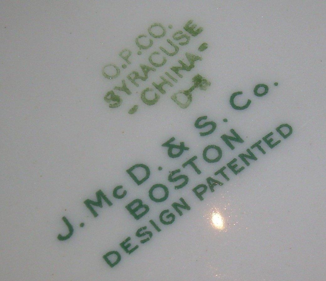 Boston & Albany Railroad Berkshire China Celery - 4