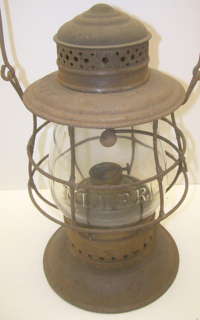 New London Northern Brasstop Lantern CC Globe