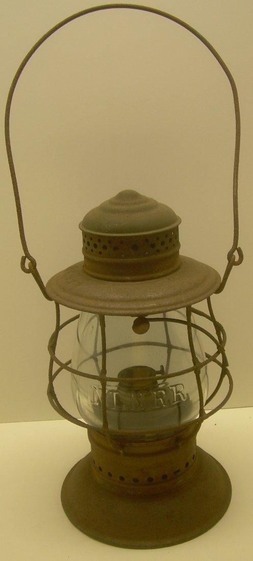 New London Northern Brasstop Lantern CC Globe - 2