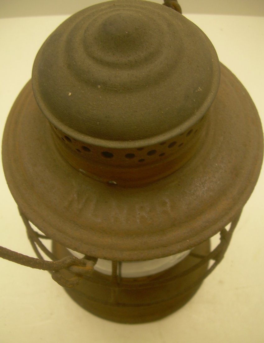 New London Northern Brasstop Lantern CC Globe - 3