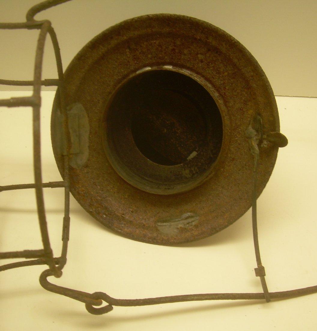 New London Northern Brasstop Lantern CC Globe - 6