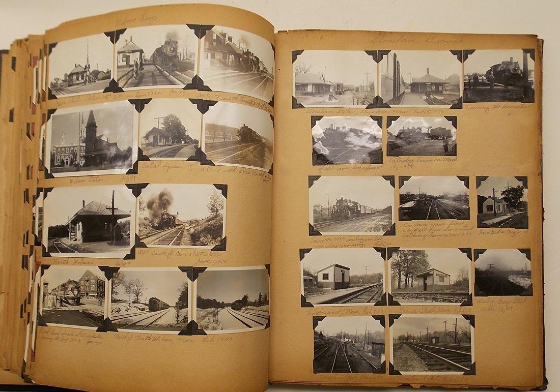 Old Boston & Maine Photo Scrapbook (450+) - 10