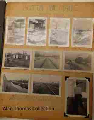 Old Boston & Maine Photo Scrapbook (450+)