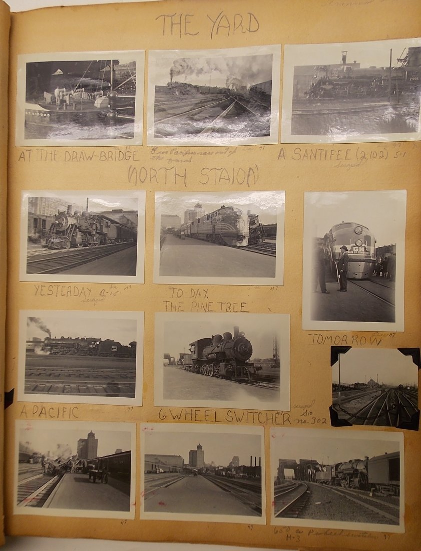 Old Boston & Maine Photo Scrapbook (450+) - 4